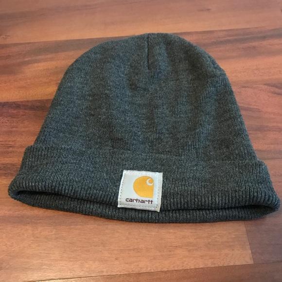 Dark Gray Carhartt Beanie Hat